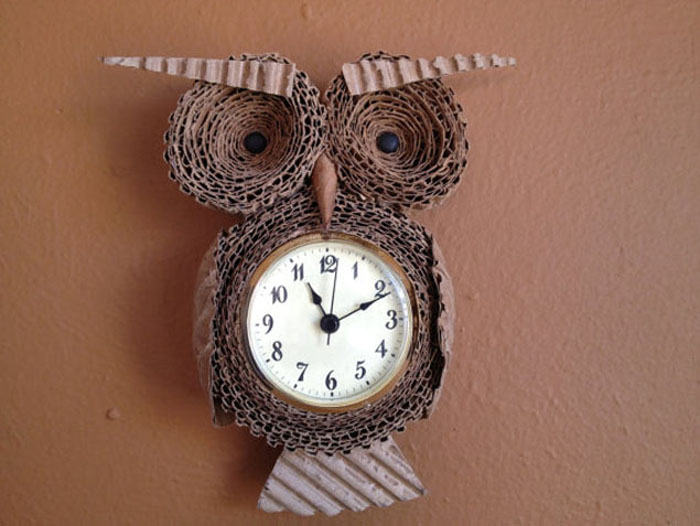 Cardboard Owl Watch