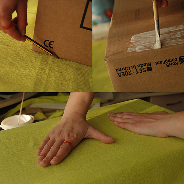 DIY Cardboard Storage Box 3