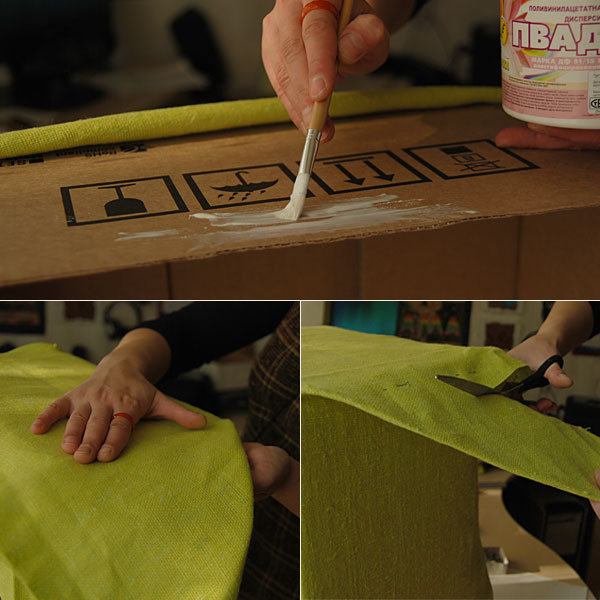 DIY Cardboard Storage Box 4