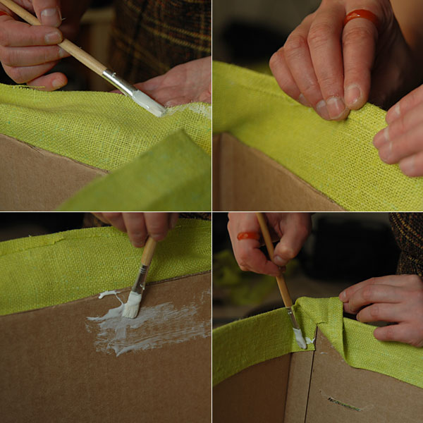 DIY Cardboard Storage Box 7
