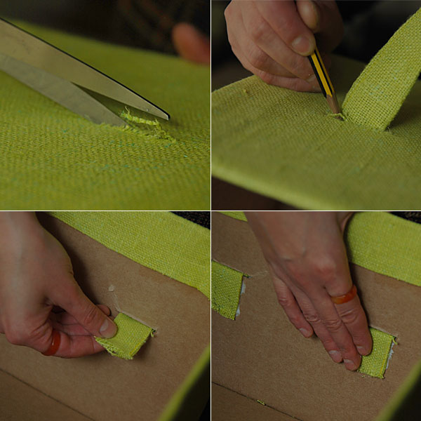 DIY Cardboard Storage Box 8