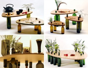 wine bottle tables dvinus