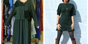Refashionista Jillian Owens Turns Second Hand Clothes Into Elegant Dresses