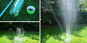 DIY Homemade Bottle Sprinkler