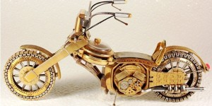 Dmitriy Khristenko Creates Motorcycles From Broken Watches